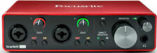 Focusrite Scarlett 2i2 (3ª generación) Interfaz Audio USB - Rojo