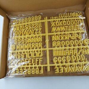 VR Vintage Revivals Letter Board Letter Set 290 Pieces Free Shipping
