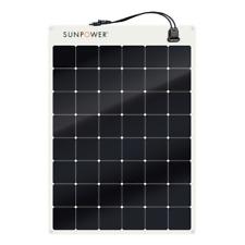 SUNPOWER SPR-E-Flex 170W 12V Semi Flexible Solar Panel for RVs, boats, yachts