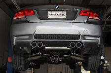 Beluga Racing 2008-2013 BMW M3 E90 E92  True Dual Performance Exhaust Bevel Tips