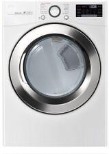 "Lg Dlex3700W 27"" White Front Load 7.4 cu. ft. Electric Smart Dryer Nib"