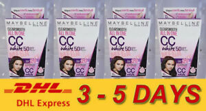 24 x Maybelline Clear Smooth All in One CC white SPF 50 PA+++ 7ml #01 Fresh
