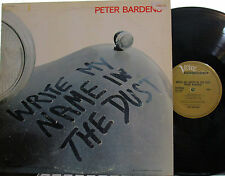 Peter Bardens - Write My Name in the Dust (Verve/ Forecast) ('71) of Camel, Them