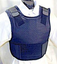 Large IIIA Concealable Body Armor Carrier BulletProof Vest Dupont Kevlar Inserts