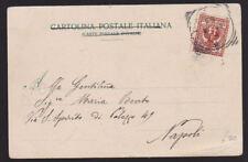 ITALIE 1901 illustré Carte postale couverture Casale Monferrato Bologne Napoli