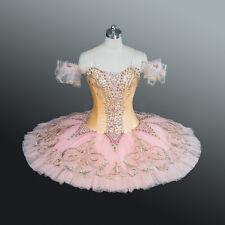 Professional Pink & Peach Sugar Plum Dew Drop Sleeping Beauty Ballet Tutu MTO