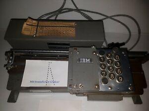 IBM Lochkartenstanzer Lochkartenschreiber