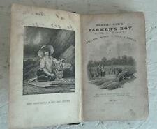 Bloomfield's Farmer's Boy Rural Tales, Ballads Songs Wild Flowers 1837 Poetry