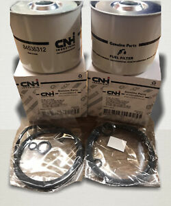 Case IH Tractor International GENUINE Diesel Fuel Filter 2pk 84535312 / K960911