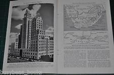 1942 SOUTH AFRICA magazine article Transvaal Johannesburg Pretoria natives color