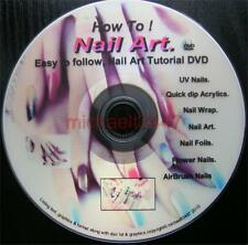How to do Acrylics Nails, Nail Art, Nail Foils. How to do beautiful nails, DVD