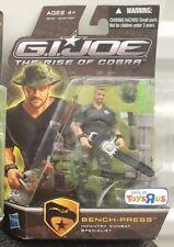 "G.I. Joe The Rise of Cobra - Bench-Press Infantry Combat Exclusive 3.75"" Figure"