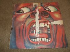 King Crimson In The Court Of The Crimson King Album LP PROMO