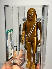 AFA 85 Star Wars 1977 Loose Chewbacca Figure Made In Hong Kong Kenner First 12