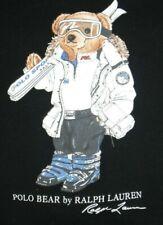Ralph Lauren Polo Bear Baby Boys Black Sweatshirt   Size 12M