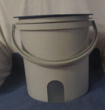 TUPPERWARE Huge Jumbo Canister Bucket with Handle 14.5 L  NEW