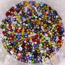 25g 2mm Glass Seed Beads – Colour Mix