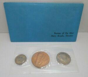 1976 Bicentennial 3 Coin Souvenir Set Sealed & Uncirculated-Director Mary Brooks