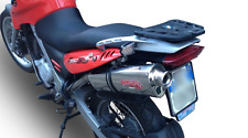BMW G650GS Serato Exhaust Stainless TRI Oval by GPR Exhausts fits from 2011