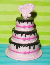 MONSTER HIGH SWEET 1600 DRACUALURA DOLL SIZE REPLACEMENT BIRTHDAY CAKE ONLY