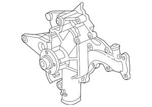 Genuine Mercedes-Benz Water Pump 112-200-15-01-80