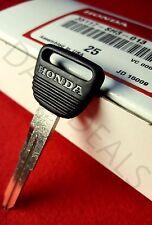 NEW Genuine OEM Honda Master Key Blank Civic CR-V CRX del Sol Prelude Odyssey