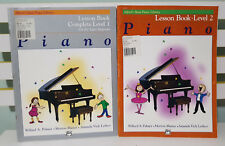 Set of 2x Piano Masters Sheet Music Books! Complete Level 1 & Level 2!