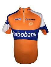 AGU Bike Gear Cycle Orange Blue Cycling Jersey Shirt Short Sleeve Rabobank M