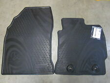COROLLA HATCH FRONT RUBBER FLOOR MATS AUGUST 2012 ON **TOYOTA GENUINE PARTS**