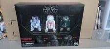 Star Wars Black Series 6 Inch Red Squadron Astromech set (R2-D2, R5-D8, R2-X2)