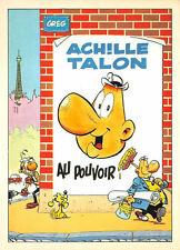 """Carte Postale ACHILLE TALON  """"Au pouvoir ' collector"""
