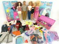 Vintage 90s Barbies Lot includes Vintage 1990's Ken Doll Vintage Clothing NIP