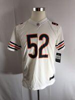 Chicago Bears Khalil Mack White Jersey Men Size Youth  XL 18/20