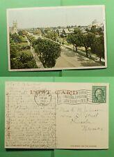 DR WHO 1916 PASADENA CA EXPO SLOGAN CANCEL POSTCARD  f52421