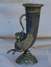 Greek Thracian Roman Commander officer cold cast rhyton goblet chalice cup art