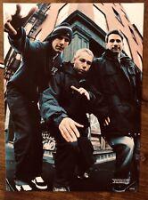 More details for beastie boys poster bundle - vintage 2000's a4 magazine rap nyc the 5 boroughs