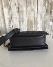 Chanel Boy Mermaid Rainbow Small Purple Iridescent Leather Shoulder Bag