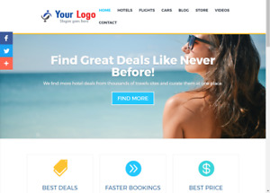 Outstanding Affiliate Travel, Hotel Store Website Free Installation+Free Hosting