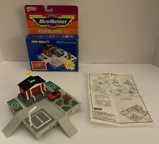Micro Machines, Travel City, City Hall, 1987, Galoob