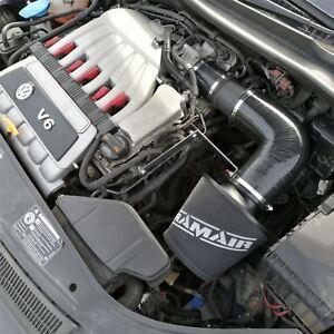Ramair Air Filter Intake Induction Kit VW Golf R32 mk5 Audi TT A3 3.2 V6 Black