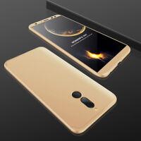 360° Full Body Cover Hybrid Hard Case+Tempered Glass For Huawei Mate 10 Pro Lite