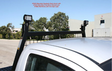 Heavy Duty Adjustable Headache Rack Truck Dodge Ram Ford Chevy Window Screen