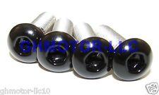 03 04 CBR600RR gloss black COMPLETE FAIRING BOLTS KIT