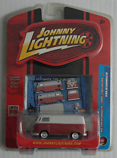 Johnny Lightning – VW T1 Transporter rotbraun/creme Neu/OVP