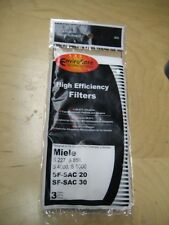 3 pk Filter fit Miele Super Air Clean S/227/858/4000/5000 SF-SAC30 SF-SAC20