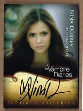 Nina Dobrev ++ Autogramm The Vampire Diaries Vielleicht lieber morgen Autograph