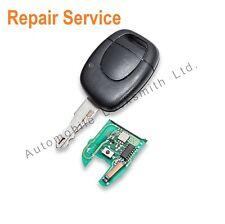 Renault Clio 1 Button Remote key fob REPAIR SERVICE