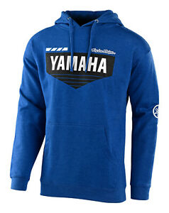 Troy Lee Designs Pullover Hoodie TLD Yamaha L4 - Royal Heather