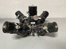 5 ITT Pure-Flo A204 Stainless Steel Diaphragm Valves w/ Position Monitor