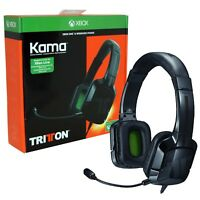 Tritton Kama Stereo Gaming Headset Xbox One BLACK Official Licenced NEW Switch